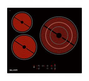Placa Vitrocerâmica 3 Zonas Silver SKPV3F27LK