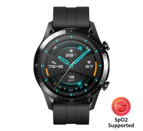 Smartwatch Huawei Watch GT 2 46mm Preto (suporta SpO2)