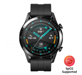 Smartwatch Huawei Watch GT 2 46mm Sport Preto (suporta SpO2)