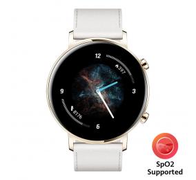Smartwatch Huawei Watch GT 2 42mm Sport Branco (suporta SpO2)