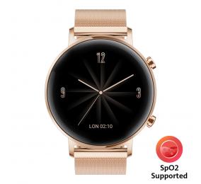 Smartwatch Huawei Watch GT 2 42mm Elegant Rosa Dourado (suporta SpO2)