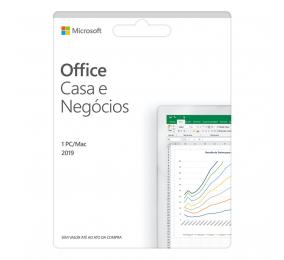 Cartão Microsoft Office2019 Casa & Negócios PT