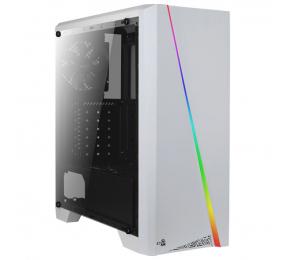 Caixa ATX Aerocooler Cylon RGB Branca