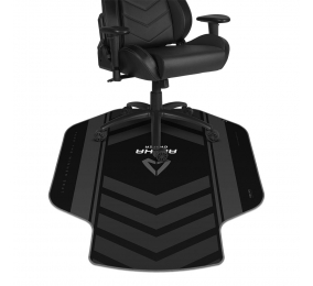 Tapete de Cadeira Alpha Gamer Decan Extended Preto