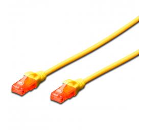 Cabo de Rede Ewent EW-6U Patch Cable CAT 6 UTP 0.5m Amarelo