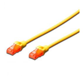 Cabo de Rede Ewent EW-6U Patch Cable CAT 6 UTP 3m Amarelo