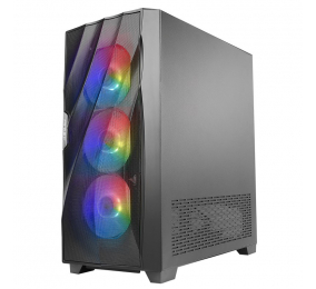 Caixa ATX Antec DF700 Flux Tempered Glass Preta