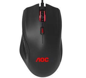 Rato AOC Gaming GM200 4200DPI RGB Preto
