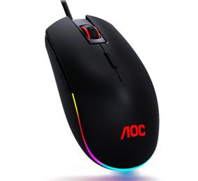 Rato AOC Gaming GM500 5000DPI RGB Preto