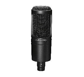 Microfone Audio-Technica AT2020 Cardioid Condenser Preto