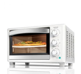 Mini Forno Elétrico Cecotec Bake&Toast 610 4Pizza 1500W 26 Litros Branco