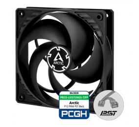 Ventoinha 120mm Arctic P12 PWM PST 1800RPM 4 Pinos PWM Preta (Single Fan)