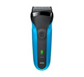 Máquina de Barbear Braun Series 3 310s Azul