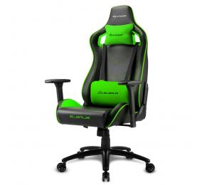 Cadeira Gaming Sharkoon Elbrus 2 Preta/Verde
