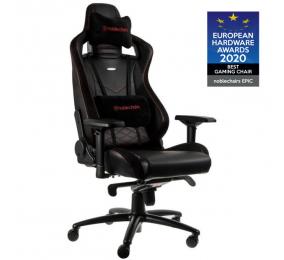 Cadeira Gaming Noblechairs EPIC PU Leather Preta/Vermelha