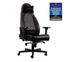 Cadeira Gaming Noblechairs ICON PU Leather Preta/Vermelha