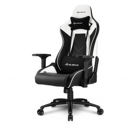 Cadeira Gaming Sharkoon Elbrus 3 Preta/Branca