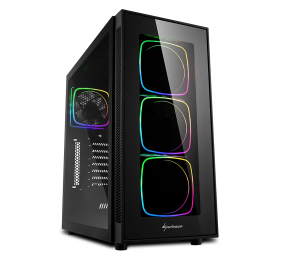 Caixa ATX Sharkoon TG6 RGB