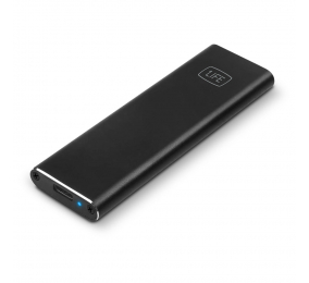 Caixa Externa M.2 1Life hd:flash NVME USB 3.1 SSD