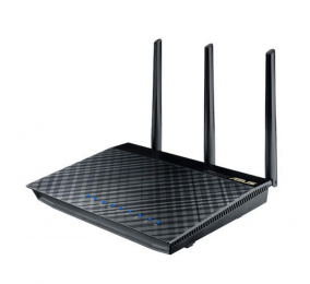 Router Asus RT-AC66U Gigabit 802.11ac Wireless AC1750 Dual-Band