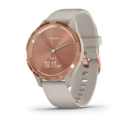 Smartwatch Garmin Vivomove 3S Rosa Dourado/Areia
