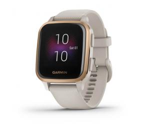 Smartwatch Garmin Venu SQ Music Areia/Rosa Dourado