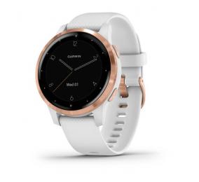 Smartwatch Garmin Vivoactive 4S Branco/Rosa Dourado
