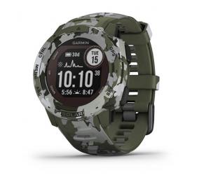Smartwatch Garmin Instinct Solar Camo Edition - Camuflado Líquen