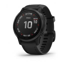 Smartwatch Garmin Fenix 6S Pro Preto c/ Bracelete Preta + Protetor de Ecrã