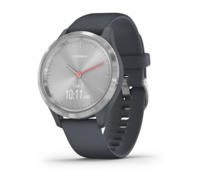 Smartwatch Garmin Vivomove 3S Prateado/Azul Granito