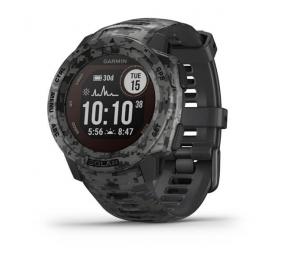 Smartwatch Garmin Instinct Solar Camo Edition - Camuflado Grafite