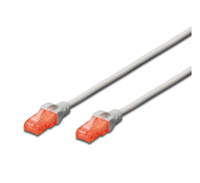 Cabo de Rede Ewent EW-6U Patch Cable CAT 6 UTP 15m Cinzento
