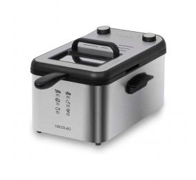 Fritadeira Cecotec CleanFry Infinity 3000 Full Inox 2400W Aço Inoxidável