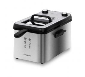 Fritadeira Cecotec CleanFry Infinity 4000 Full Inox 3270W Aço Inoxidável