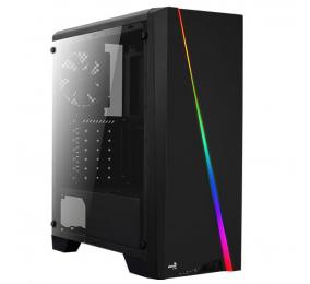 Caixa ATX Aerocooler Cylon RGB Preta