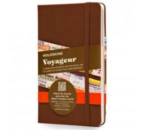 Caderno Médio Moleskine Voyageur, O Caderno do Viajante