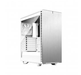 Caixa ATX Fractal Design Define 7 Compact White TG Clear Tint