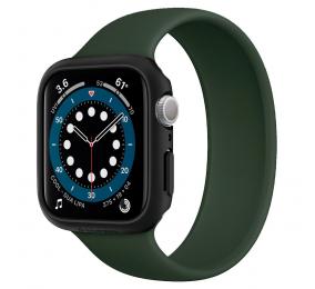 Capa Spigen Thin Fit Apple Watch Series SE / 6 / 5 / 4 (40mm) Preta