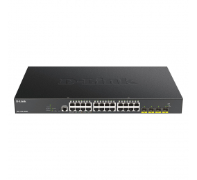 Switch D-Link DGS-1250-28XMP 28-Port 10-Gigabit Smart Managed PoE