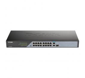 Switch D-Link DSS-100E-18P 18-Port 10/100BASE-TX PoE Unmanaged Surveillance