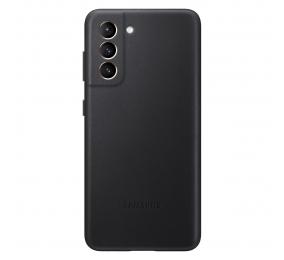 Capa Samsung Leather Cover Samsung Galaxy S21 Preta