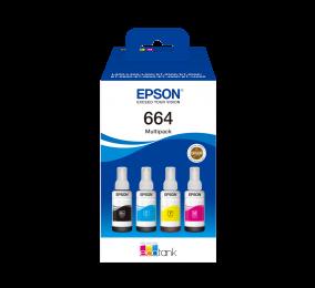 Tinteiro Epson 664 EcoTank 4-Cores Multipack