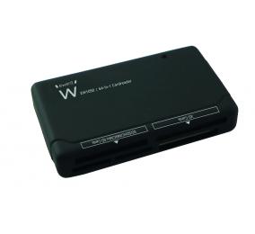 Leitor de Cartões Ewent EW1050 64 em 1 USB 2.0 Preto
