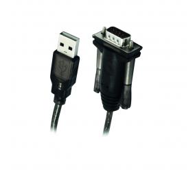 Cabo Conversor Ewent EW1116 USB 2.0 para Serial (RS232) 1.5m Preto