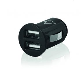Carregador de Isqueiro Ewent EW1220 USB de 2 Portas 2,4A