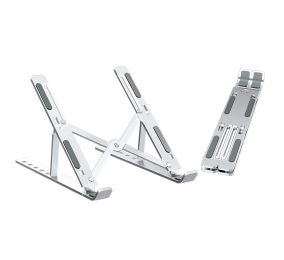 Suporte Ewent EW1266 Aluminum Folding Laptop Stand Cinza