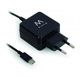 Carregador Ewent EW1305 15W USB Type-C 3A 1.75m Preto