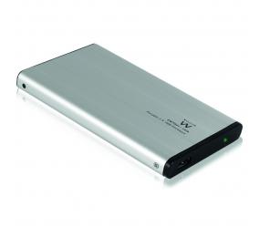 "Caixa Externa 2.5"" Ewent EW7041 USB 2.0 HDD/SSD Cinza"