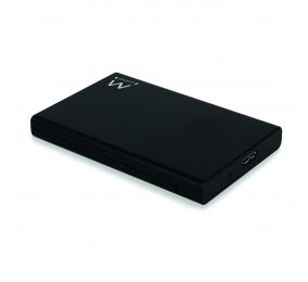 """Caixa Externa 2.5"""" Ewent EW7044 USB 3.1 Gen 1 (USB 3.0) SATA HDD/SSD Preta"""