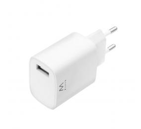 Carregador Ewent EW1301 USB 12 Watts 2.4A Branco